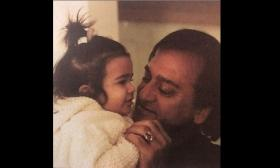 Trishala Dutt shares adorable throwback picture with grandfather Sunil Dutt