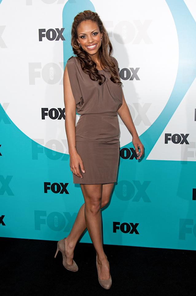 "Jaime Lee Kirchner (""The Mob Doctor"") attends the Fox 2012 Upfronts Post-Show Party on May 14, 2012 in New York City."