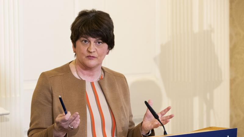 Arlene Foster: Education at schools at an end due to coronavirus