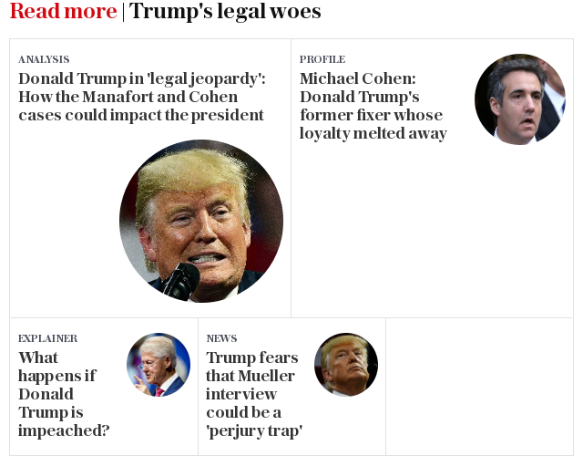 Read more | Trump's legal woes
