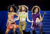 """<p>Before Destiny's Child rocked the world with """"Say My Name,"""" Beyonce, Kelly Rowland and LaTavia Roberson's R&B group had a few more members and was dubbed Girl's Tyme. They <a href=""""https://www.youtube.com/watch?v=jYZA4VOnpPk"""" rel=""""nofollow noopener"""" target=""""_blank"""" data-ylk=""""slk:appeared on Star Search"""" class=""""link rapid-noclick-resp"""">appeared on <em>Star Search</em></a>, and lost — years before they switched up the group to include Michelle Williams and skyrocketed up the charts with their """"Bootylicious"""" tunes.</p>"""