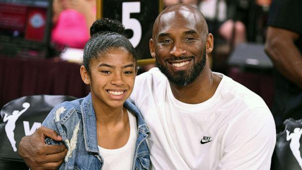 PHOTO: Gianna and Kobe Bryant at the WNBA All Star Game at Mandalay Bay Events Center, Jul 27, 2019, in Las Vegas. (Stephen R. Sylvanie-USA TODAY Sports via Reuters, FILE)