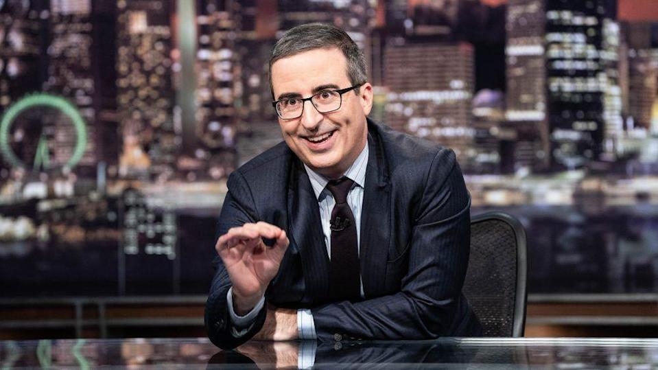"<p>How many Emmys do you have to win to be considered the GOAT because John Oliver's <em>Last Week Tonight</em> has to be nearing that number. The series that comically covers the week's events has become so ingrained in our culture that it's hard to believe it's only been on six seasons. But don't let the ""comedy"" moniker fool you. Oliver and his whip smart writing staff are <a href=""https://www.esquire.com/entertainment/tv/a32802796/john-oliver-defund-police-video-last-week-tonight-kimberly-jones-social-contract/"" rel=""nofollow noopener"" target=""_blank"" data-ylk=""slk:holding feet to the fire"" class=""link rapid-noclick-resp"">holding feet to the fire</a> better than a lot of news networks.</p><p><a class=""link rapid-noclick-resp"" href=""https://play.hbomax.com/series/urn:hbo:series:GVU2cCgUFTYNJjhsJATuH?camp=googleHBOMAX&action=play"" rel=""nofollow noopener"" target=""_blank"" data-ylk=""slk:Watch Now"">Watch Now</a></p>"