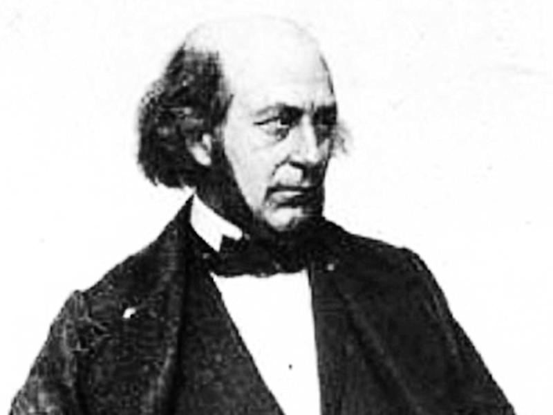 French engineer Aimé Thomé de Gamond, 'father of the tunnel', whose 1867 plan was accepted by both Victoria and Napoleon III – but cancelled due to the Franco-Prussian War of 1870 (Creative Commons)