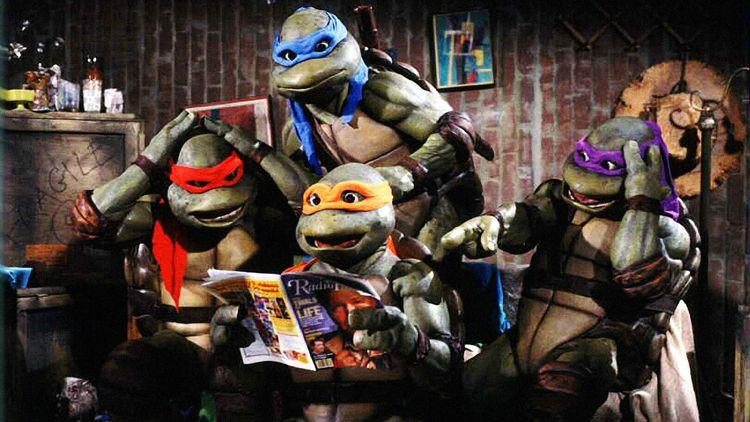 You can't think about the early 1990s without thinking of <em>Teenage Mutant Ninja Turtles.</em>