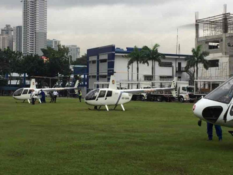 PNP acquires new helicopters, equipment
