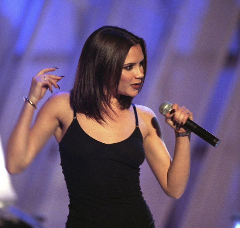 <p>This outfit could not be more appropriate for the Spice Girls' 25th anniversary, celebrating a quarter of a century of us all not-so-secretly wanting to be Victoria Beckham. It's a minimal one so don't forget the platforms and microphone to land the look. </p>