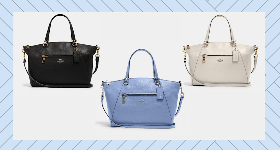 Coach Outlet's Prairie Satchel is a total steal at just $131 USD.