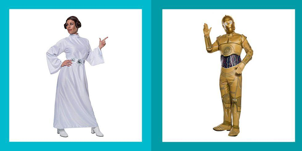 """<p>It's unclear what's happening in a galaxy far, far away, but here on Earth, it's time to start thinking about <a href=""""https://www.womansday.com/halloween/"""" target=""""_blank"""">Halloween</a>. And if you find yourself dreaming about life on Tatoonie or Hoth, then you may want to consider a <em>Star Wars </em>costume for the upcoming festivities. <em></em></p><p>From old-school favorites like Princess Leia and Darth Vader to the newer characters like Rey and Kylo Ren, there's sure to be a <em>Star Wars</em> costume that's perfect for any member of your family. With plenty of affordable options, there's a <em>Star Wars</em> costume for any budget. Or if you're feeling creative, you can make your very own <em>Star Wars</em> costume ― some of them even use things you might already have around the house. Whether you're flying (Han) Solo, finding a <a href=""""https://www.womansday.com/style/fashion/g1923/cutest-couples-costumes-for-halloween/"""" target=""""_blank"""">couples costume</a> for you and your boo, or making it a <a href=""""https://www.womansday.com/life/g1898/family-halloween-costumes/"""" target=""""_blank"""">family affair</a>, there's sure to be a <em>Star Wars</em> costume idea that strikes your fancy. </p>"""