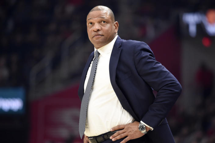 Doc Rivers is headed to Philadelphia. (Photo by Jason Miller/Getty Images)