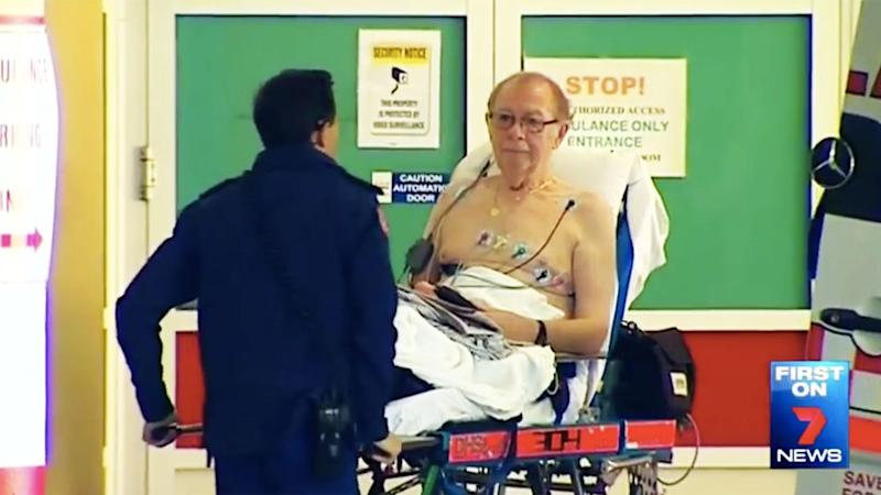 76-year-old Mr Shaw has been deemed a 'hero' and 'champion' for putting a stop to the robbery. Photo: 7 News