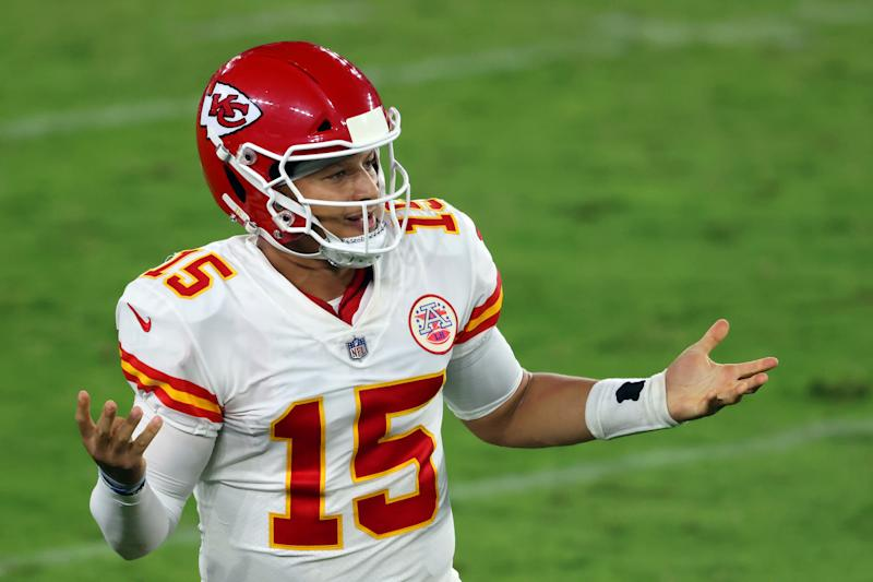 Patrick Mahomes and the Chiefs won, which was great for bettors. (Photo by Rob Carr/Getty Images)