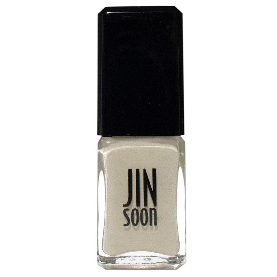 Part of Jinsoon's collaboration with designer Suzie Kondi, Piedra is proof that neutrals can be as noticeable and chic as any conspicuous color. More of a khaki cement than a nude, the shade stands in contrast with skin tones instead of blending in, and the formula is the same super smooth cream you've come to love from the legendary nail artist's line.