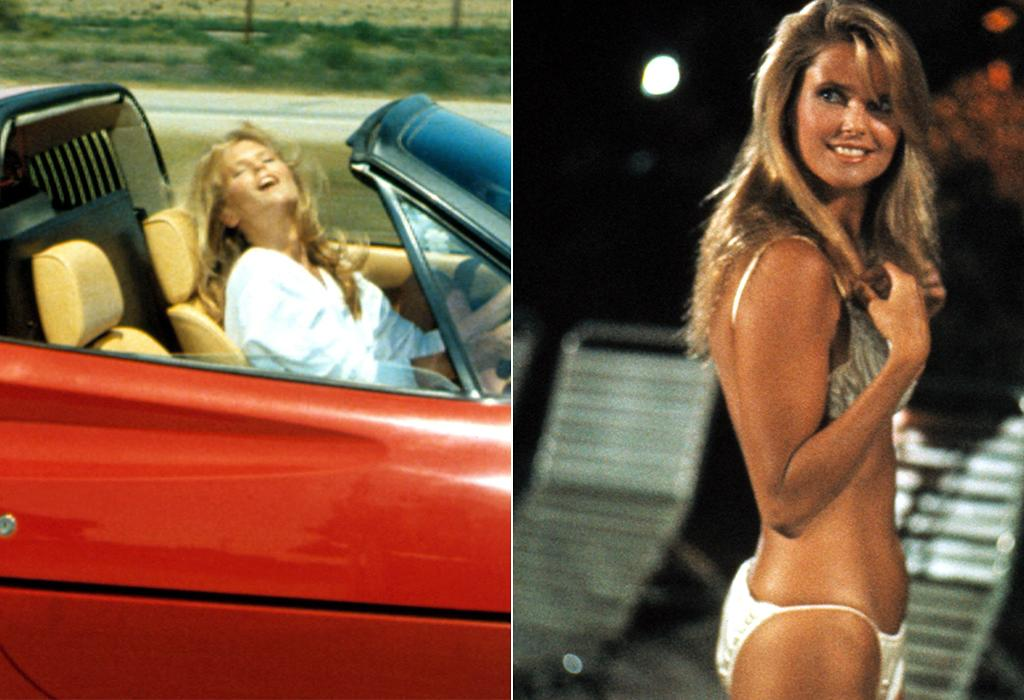 "<b>Hit: The Girl in the Ferrari (Christie Brinkley) in '<a href=""http://movies.yahoo.com/movie/national-lampoons-vacation/"">National Lampoon's Vacation</a>'</b><br /><br />No one personified potential adultery more, uh, impressionably in the '80s than Christie Brinkley in ""National Lampoon's Vacation."" The supermodel played the beautiful mystery woman who pops up randomly along the cross-country holiday road of the Griswold family, stirring the loins of patriarch Clark (Chevy Chase). This potentially icky subplot worked because it had something of a supernatural bent to it, as the Girl in the Ferrari could be interpreted as just a figment of Clark's imagination ... that is, until he gets caught in the pool with her. <br /><br />"