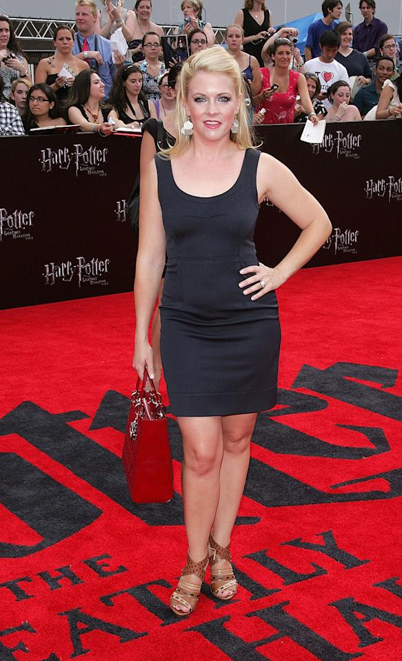 """<a href=""""http://movies.yahoo.com/movie/contributor/1800018890"""">Melissa Joan Hart</a> at the New York City premiere of <a href=""""http://movies.yahoo.com/movie/1810004624/info"""">Harry Potter and the Deathly Hallows - Part 2</a> on July 11, 2011.  <a href=""""http://movies.yahoo.com/""""> See more on Yahoo! Movies </a>  <a href=""""http://movies.yahoo.com/showtimes-tickets/""""> Find Showtimes & Tickets </a>"""