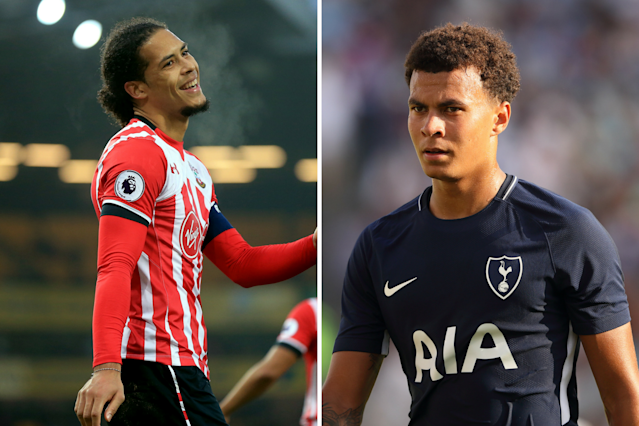 Dele Alli and Virgil van Dijk have both been linked with moves away from their clubs