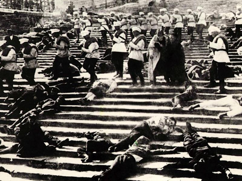 Eisenstein's Battleship Potemkin remains one of the most revered films of all time - not least for its famous Odessa steps sequence