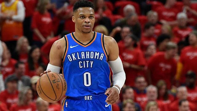 Russell Westbrook is certainly facing a lot of pressure in the first round of the NBA playoffs. Can he and the rest of the Oklahoma City Thunder overcome their deficit against the Utah Jazz?