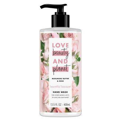 """<p><strong>Love Beauty & Planet Murumuru Butter & Rose Hand Wash Soap</strong></p><p>target.com</p><p><strong>$3.99</strong></p><p><a href=""""https://www.target.com/p/love-beauty-38-planet-murumuru-butter-38-rose-bountiful-bouquet-hand-wash-soap-13-5oz/-/A-75566321"""" rel=""""nofollow noopener"""" target=""""_blank"""" data-ylk=""""slk:Shop Now"""" class=""""link rapid-noclick-resp"""">Shop Now</a></p><p>Sometimes, you have to transform every moment of your day into something purposeful. Like washing your hands: take those 30 seconds of warm water and scrubbing and use them to practice deep breathing with an amazing smelling soap, like this one from Love Beauty & Planet. It's the right amount of foamy that won't strip skin, and the bottle is so pretty it'll look great in every bathroom. </p>"""