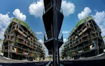 Vienna's new Seestadt suburb will house about 20,000 people by the end of the decade
