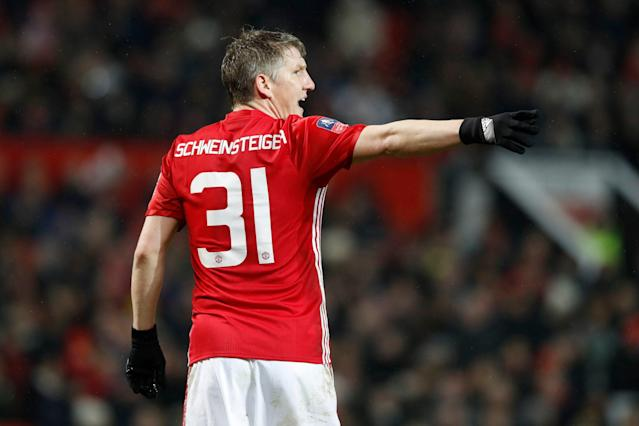 <span>Bastian Schweinsteiger looks to have played his last game for Manchester United</span>
