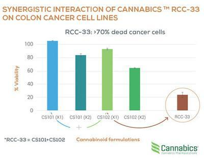 SYNERGISTIC INTERACTION OF CANNABICS™ RCC-33 ON