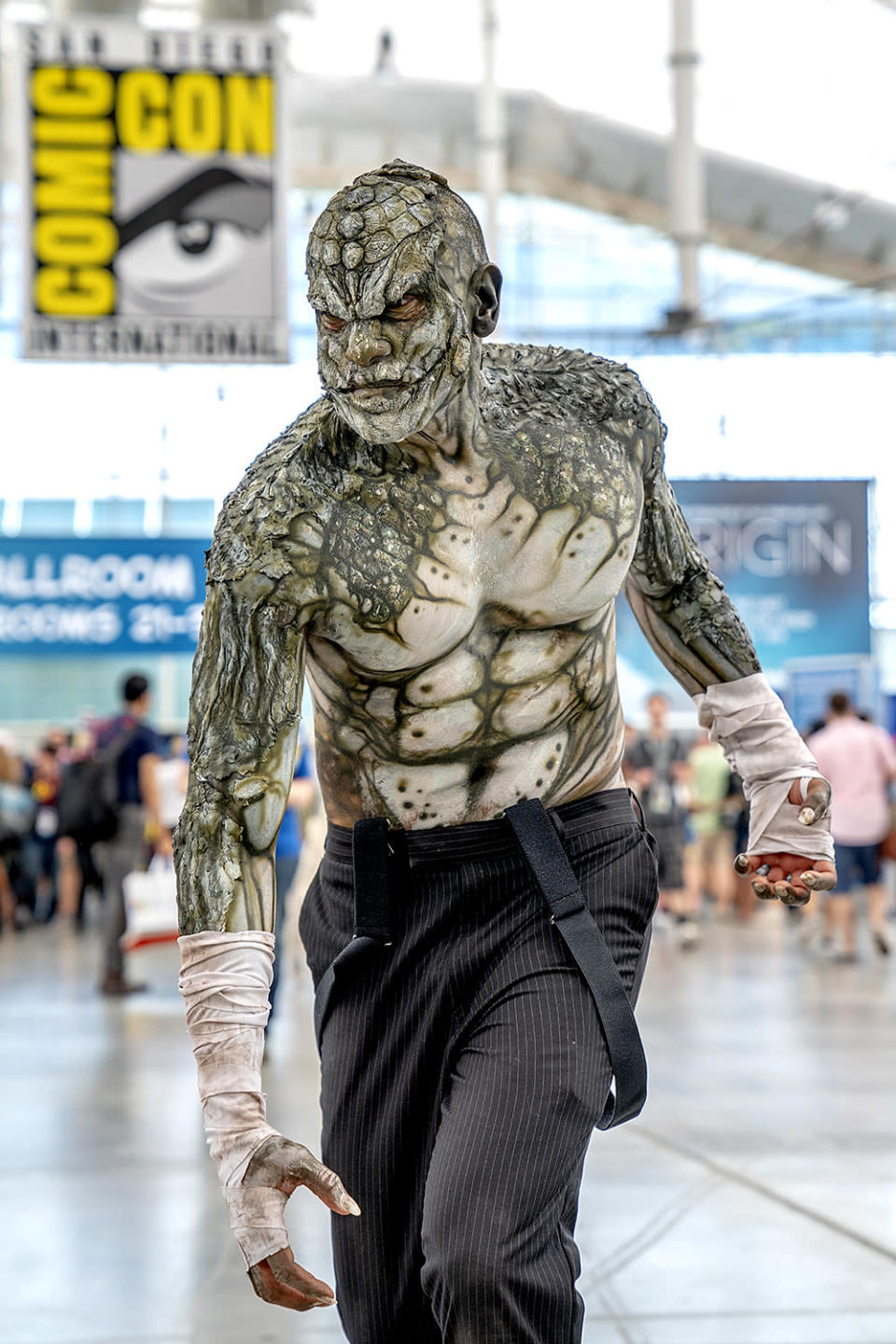 <p>Cosplayer dressed as Killer Croc at Comic-Con International on July 19, 2018, in San Diego. (Photo: Christy Radecic/Invision/AP) </p>