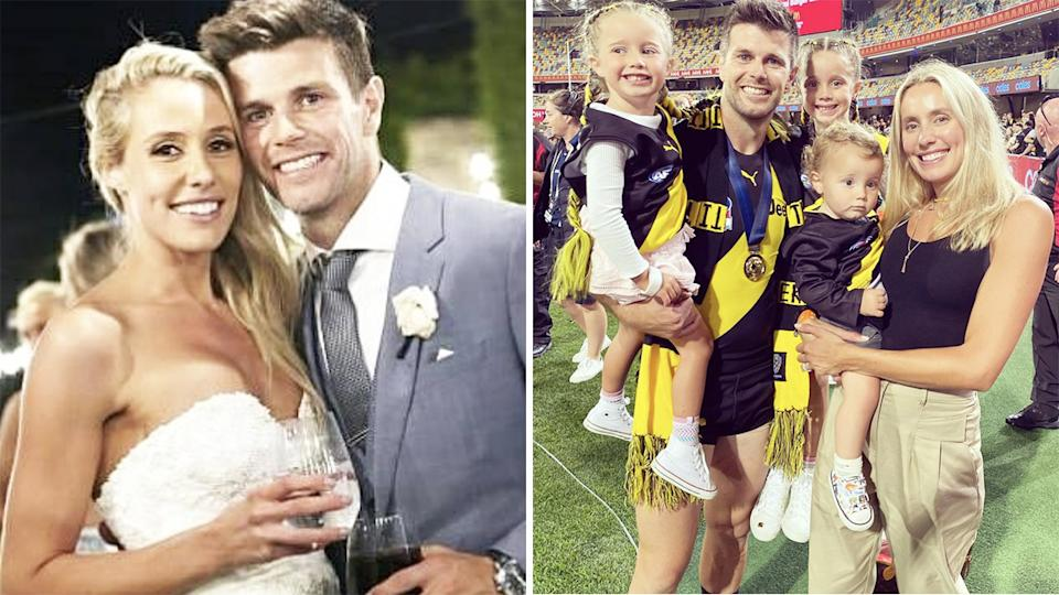 Brooke Cotchin has spoken out about the devastating mental toll her Gold Coast day spa controversy took during last year's AFL season. Pictures: Instagram