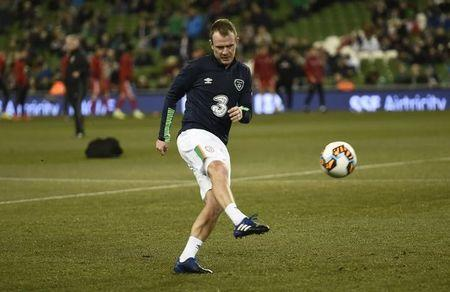 Football Soccer - Republic of Ireland v Wales - 2018 World Cup Qualifying European Zone - Group D - Aviva Stadium, Dublin, Republic of Ireland - 24/3/17 Republic of Ireland's Glenn Whelan before the match Reuters / Clodagh Kilcoyne Livepic /File Photo