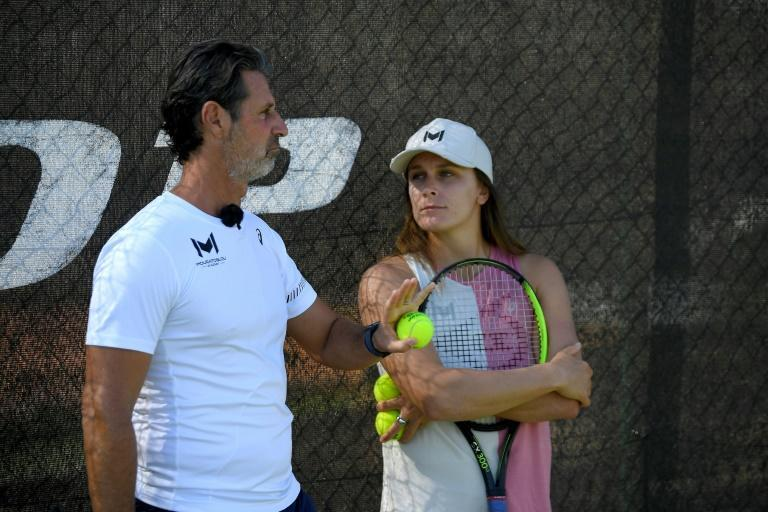 Guiding light: Patrick Mouratoglou at his tennis academy in Biot, south-eastern France (AFP/Nicolas TUCAT)