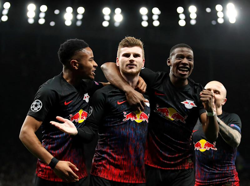 Werner opened the scoring from the spot: Getty