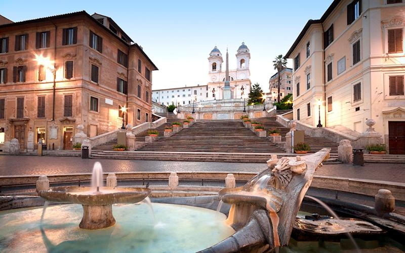 The Spanish Steps are among the many parks, fountains and churches that you can experience in Rome without spending any money - Salvatore Messina