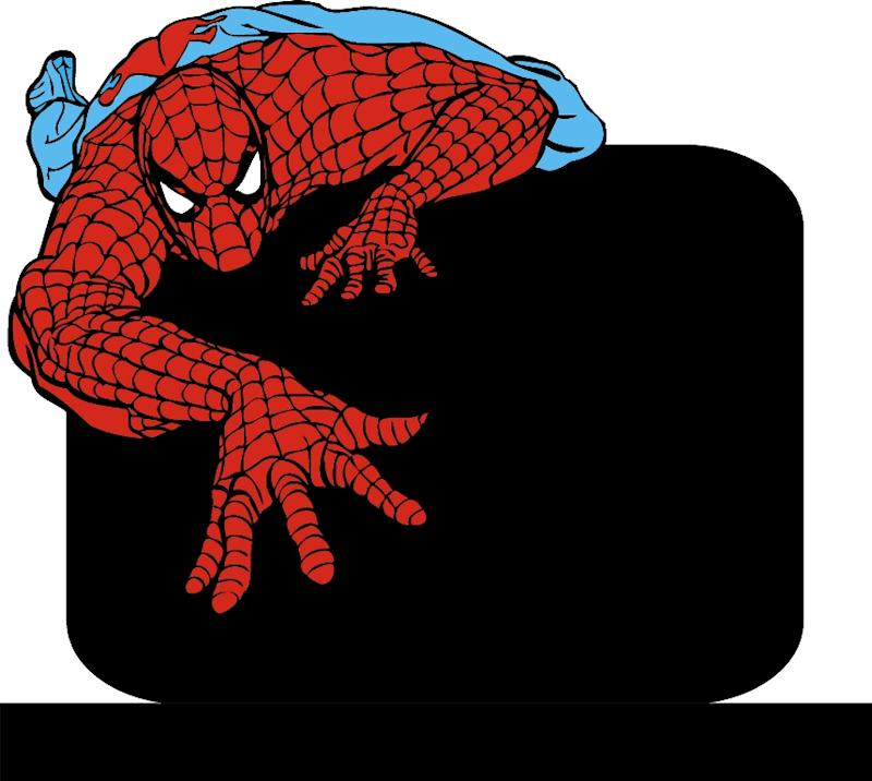The Spider-Man headstone the family want for Ollie. (SWNS)