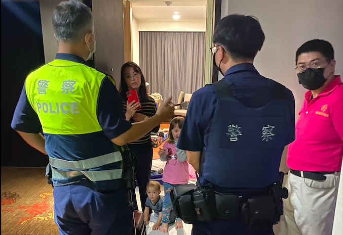 <p>The Macfarlane's family was contacted by local police three times in one day because of connection issues with their phones. (Photo courtesy of Bruce Macfarlane)</p>