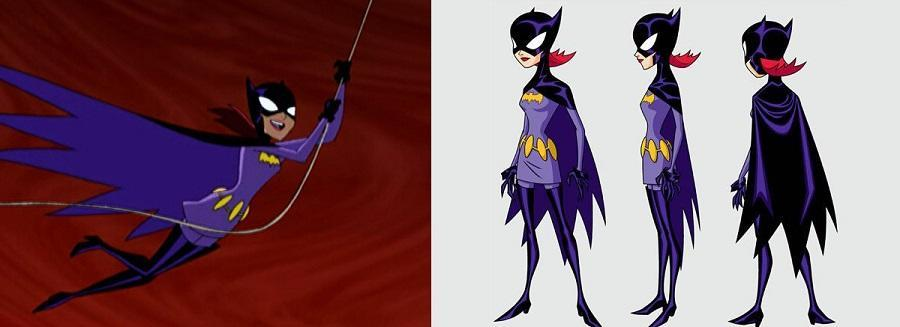 The character of Princess from Battle of the Planets inspired the look for Batgirl on The Batman.