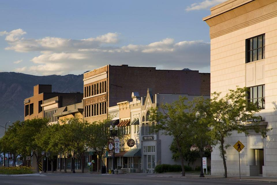 """<p>You'll definitely need to take your time in Ogden — there's just so much to do in <a href=""""http://indieogdenutah.com/indie-ogdens-guide-to-thrifting-in-o-town/"""" rel=""""nofollow noopener"""" target=""""_blank"""" data-ylk=""""slk:terms of thrifting and antiquing"""" class=""""link rapid-noclick-resp"""">terms of thrifting and antiquing</a>. One good starting point is <a href=""""http://www.estate-sale-antiques.com/"""" rel=""""nofollow noopener"""" target=""""_blank"""" data-ylk=""""slk:The Estate Sale Antiques"""" class=""""link rapid-noclick-resp"""">The Estate Sale Antiques</a>, where vintage boomboxes sit side-by-side with antique furniture.</p>"""