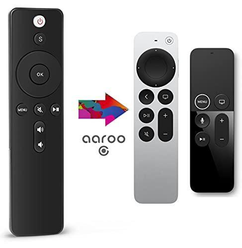 aarooGo Apple TV Replacement Remote Control with TV Power and Volume/Mute