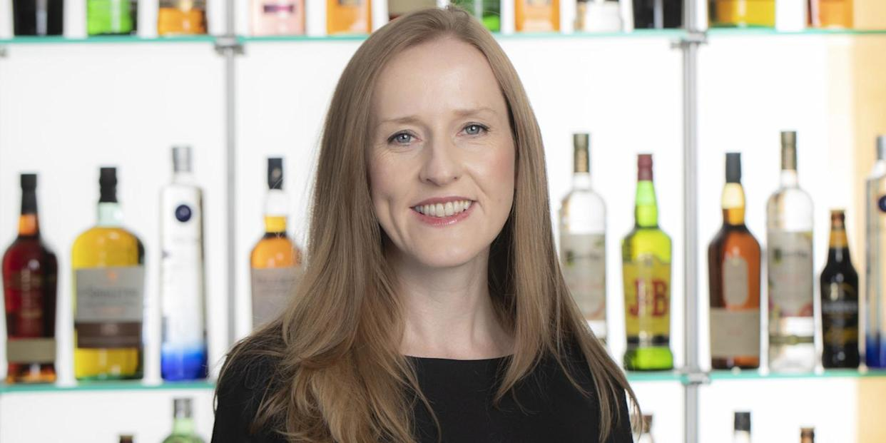 Mairead Nayager, chief HR officer, Diageo