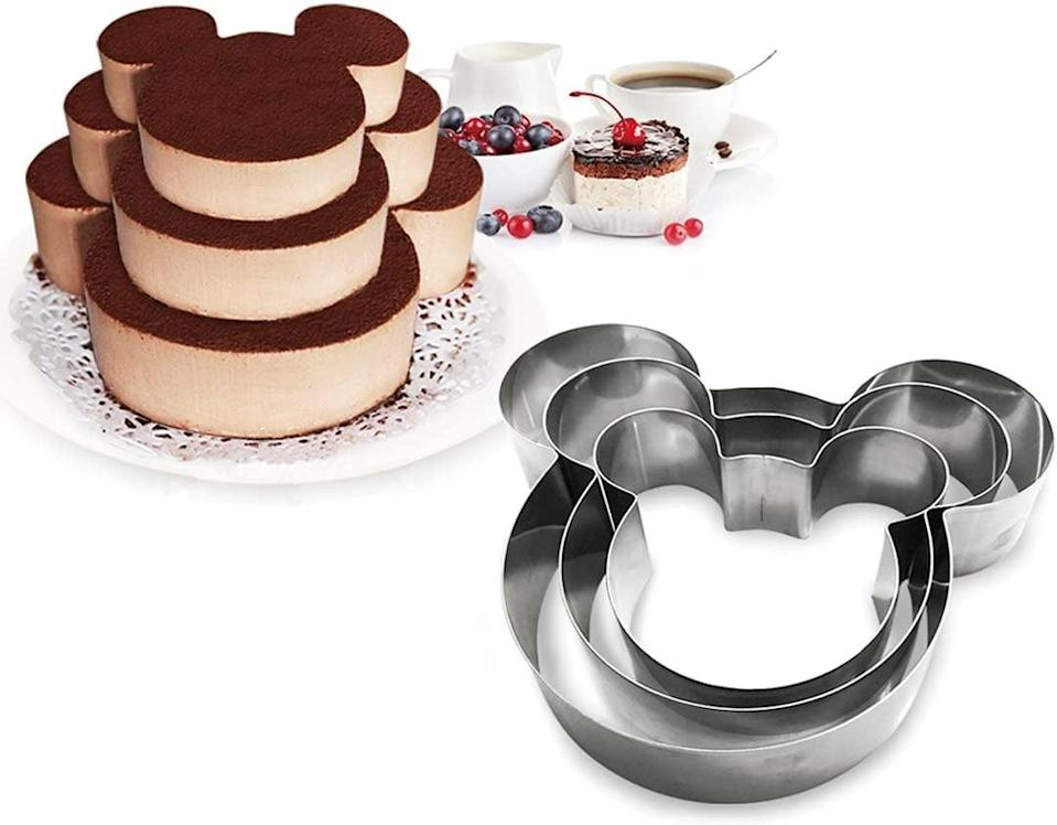 <p>These <span>3 Tier Mouse Multilayer Baking Rings</span> ($15) are perfect for baking holiday treats.</p>