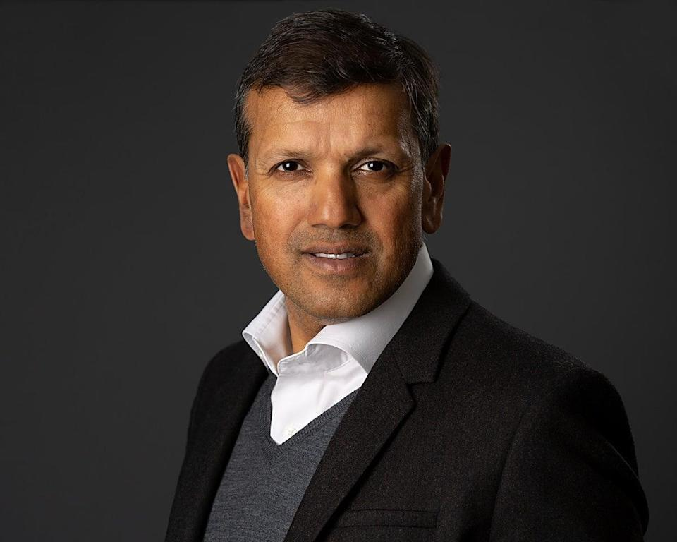 Manoj Badale, chairman of the British Asian TrustTeresa-Walton