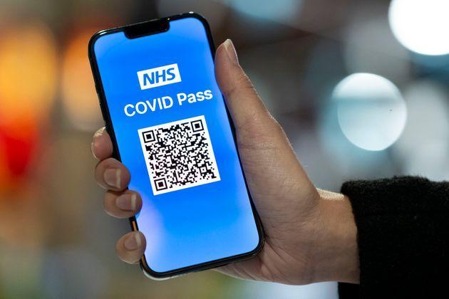 The NHS Covid Pass app used for travel went down on Wednesday (Photo: Matthew Horwood via Getty Images)