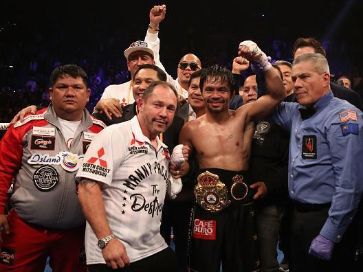 Manny Pacquiao vs Adrien Broner result: Pacquiao calls out Floyd Mayweather after unanimous decision