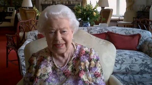 VIDEO: Queen Elizabeth joins video call as she works from home (ABCNews.com)