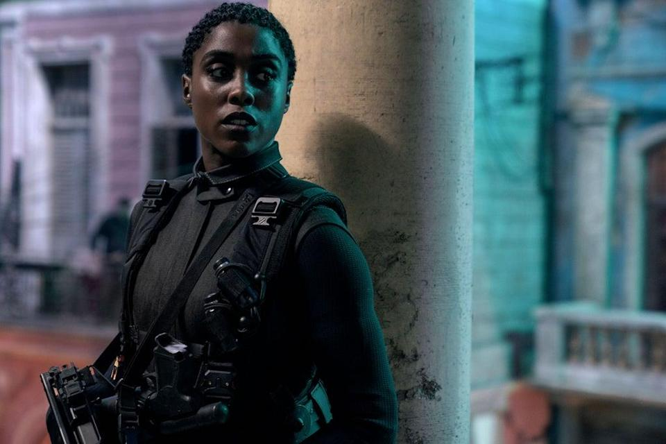 'No Time to Die's Lashana Lynch is among the favourites to be the first female 007 (MGM/Eon/Danjaq/UPI/Kobal/Shutterstock)