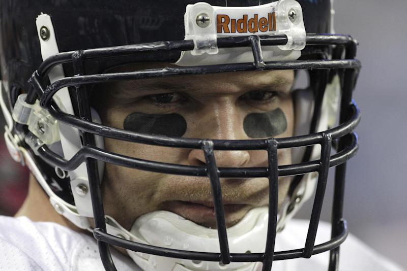 Brian Urlacher's dominance at linebacker made him a Hall of Famer, and he'll be formally recognized Saturday for it. (AP)