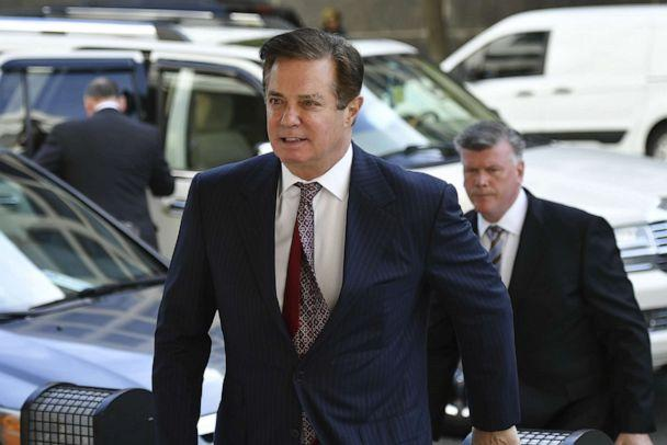PHOTO: Paul Manafort arrives for a hearing at U.S. District Court on June 15, 2018 in Washington, D.C. (Mandel Ngan/AFP/Getty Images, FILE)