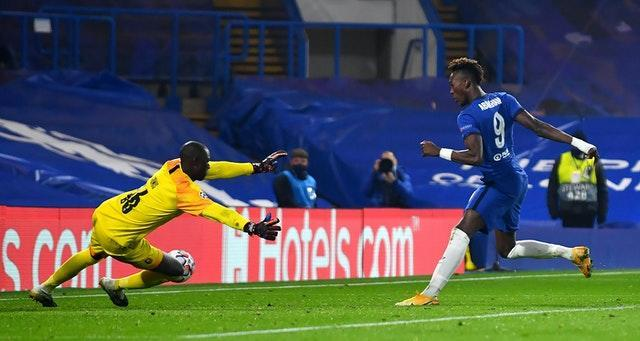 Tammy Abraham netted Chelsea's third goal