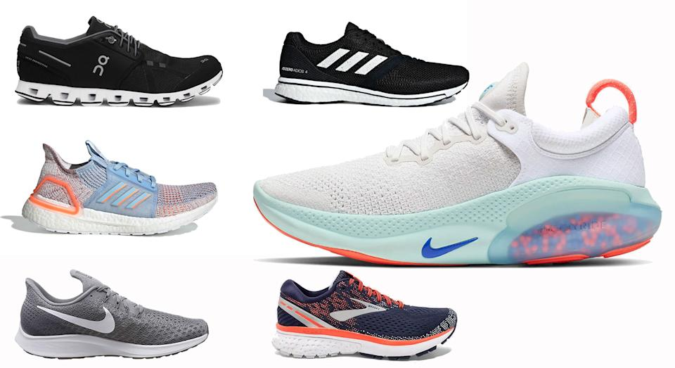 Pound the pavement with the best running trainers available now [Photo: Yahoo Style UK]