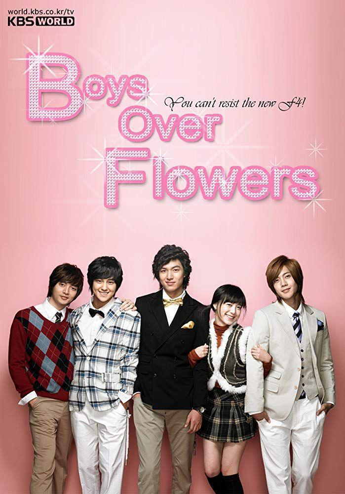 <p>It's F4's world and we're all just living in it. At least it is in <em>Boys Over Flowers</em>, a fan favorite Korean drama series that was first released over a decade ago. F4, the name of a clique of the most popular, wealthiest boys at a private high school, take an interest in a new girl, a scholarship student who comes from a totally different world. When you need a total guilty pleasure, this is it.</p>