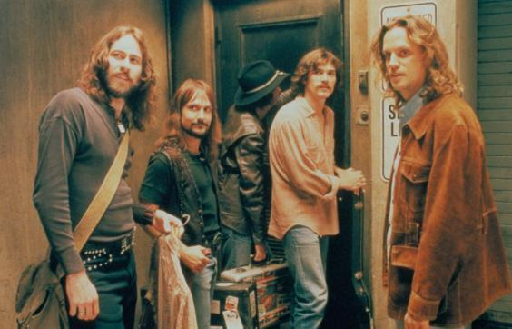 The band Stillwater in a scene from 'Almost Famous' (Rex)